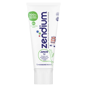 Zendium Junior 4+ år Tandpasta 50ml Front